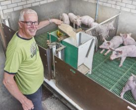 t.b.v. Vion- Goodfarmingstar website Reportage bij Peters te Didam Fotograaf:Van Assendelft Fotografie